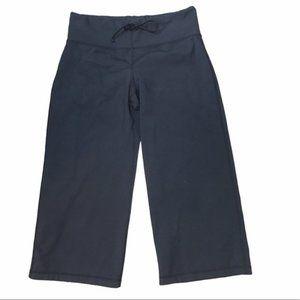 LULULEMON Black Wide Leg Crop Pant Capri *No Size